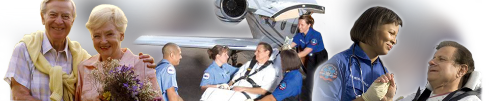 U.S. Air Ambulance Medical Transportation Services, Medical flight service and Patient Care.